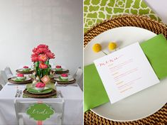 mesa verde rosa, mesa posta, como colocar a mesa, tablescape inspiration, table setting, decoration, pink green table