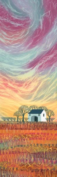 Monotypes by Northumberland artist Rebecca Vincent