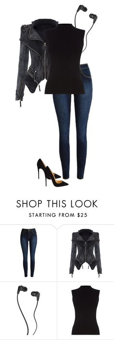 """""""#602"""" by anne1999 on Polyvore featuring mode, Skullcandy, Oasis, Christian Louboutin, women's clothing, women, female, woman, misses en juniors"""