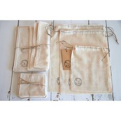 Pack discovered zero waste cotton organic loose bags + dry + any wipes by minipopfr on Etsy https://www.etsy.com/listing/474442938/pack-discovered-zero-waste-cotton