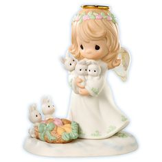 Precious Moments Figurines Christmas Is Caring