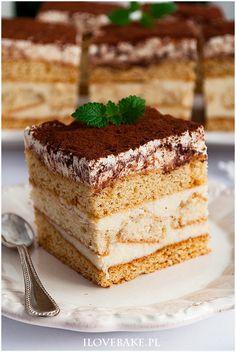 Miodownik caffe latte - I Love Bake Sweets Recipes, Cake Recipes, Desserts, Polish Recipes, Polish Food, Latte Macchiato, I Want To Eat, Food Cakes, Pavlova