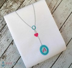 Hey, I found this really awesome Etsy listing at https://www.etsy.com/listing/176973811/monogram-drop-necklace-machine