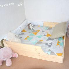 Lit au sol pour bébé #2 : nouvelle version ! | La Vie Jolie Julie - Blog de maman & bébé