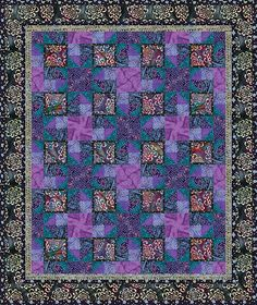 Batik By Mirah Quilting Projects, Quilts, Comforters, Patch Quilt, Kilts, Log Cabin Quilts, Quilting, Quilt