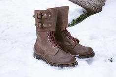 1950's French Paratrooper Boots