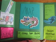 For A! We've already read the book twice this year. I'm sure he'd love to make this lapbook.