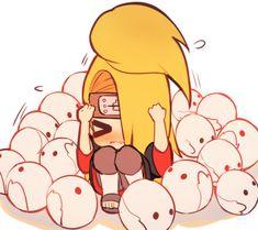 Naruto Shippuden Characters, Naruto Uzumaki Shippuden, Anime Characters, Boruto, Naruto Art, Anime Naruto, Anime Guys, Deidara Akatsuki, Deidara Wallpaper