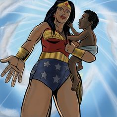 #wonderwoman #warriorforpeace #peace #dccomics