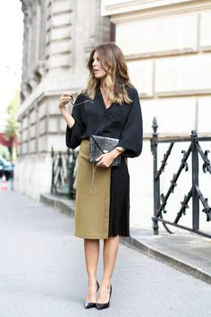 Be Chic This Fall By Wearing Midi Skirts - Top Fashion Corner #