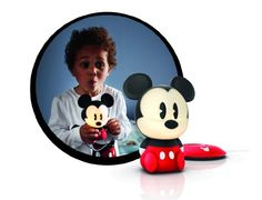 ¡Chollo! Lámpara de mesa Philips Disney SoftPal Mickey por sólo 20 euros.