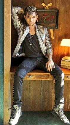 Adam Lambert, Billboard photo shoot <3