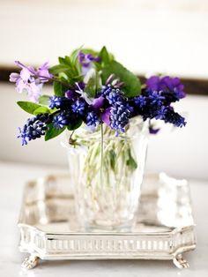 Bright purple: #flowers: http://www.andgeorge.com/