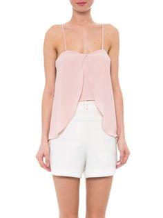 Blusa Feminina Alça Top Curto - Iorane - Rosa - Shop2gether