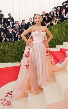 Met Gala 2016: los peores y los mejores looks Blake Lively es conocida por su buen gusto a la hora de elegir su look para las alfombras rojas, ¿te gusta?. Foto: Reuters