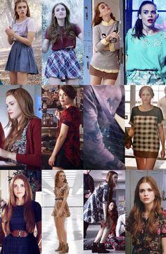 Lydia made Teen Wolf Ropa Teen Wolf, Lydia Teen Wolf, Teen Wolf Stydia, Teen Wolf Mtv, Teen Wolf Fashion, Teen Wolf Outfits, Girl Outfits, Fashion Outfits, Girl Fashion