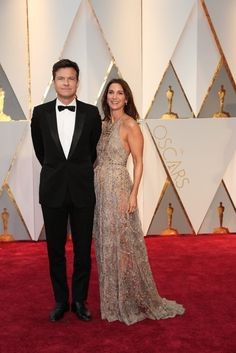 Jason Bateman and Amanda Anka Oscar 2017 Red Carpet Arrival: Red Carpet Couples 2017 - Oscars 2017 Photos | 89th Academy Awards