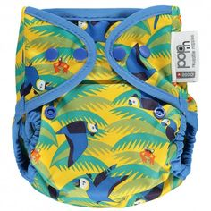 Pop-in New Gen Nappy Popper Wrap - Endangered Winter Collection - Reusable Nappies - Shop Now Close Pop In, Nappy Wraps, Disposable Nappies, Baby Sling, Winter Collection, All In One, Snug Fit, Diaper Bag, Bamboo