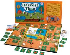 Amazon.com : Family Pastimes / Harvest Time - A Co-operative Game : Childrens Basic Skills Development Toys : Toys & Games
