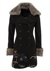 Desigual coat ~ Love it.