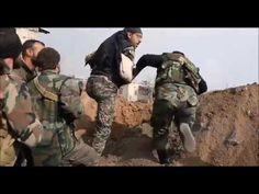Бои за Мисрабу   Восточная Гута  Видео боёв в Сирии