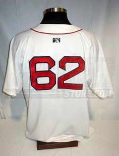 Pawtucket Red Sox Game Worn  62 Authentic On-Field White Jersey Size 52 -  Game Used MLB Jerseys by Sports Memorabilia.  270.64. Pawtucket Red Sox  Game Worn ... ae88357aa