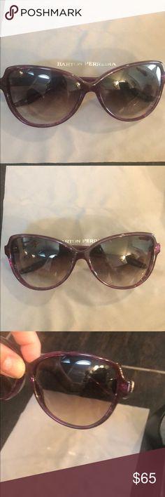 798918b5da73 Barton Perreira Sunglasses - Temptress Barton Perreira Sunglasses -  Temptress Pinkish purple New condition