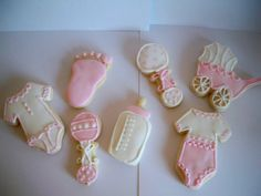 Hey, I found this really awesome Etsy listing at https://www.etsy.com/listing/73276376/baby-girl-sugar-cookies