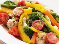 温野菜のハニーソースサラダの画像