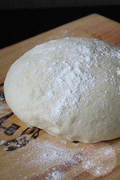 Homemade pizzadeeg