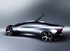 Futuristic Car by Arthur Martins (fondo no homogeneo)