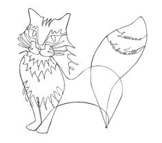2011 Entry: Cat | Artist: Dr. Michael | Category: Single Wire