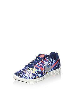 c12430402b682 Nike Womens Lunartempo 2 RF E Training Shoes-Bright Crimson Mid Navy-6.5