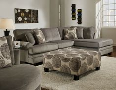 Interior. gray velvet sectional sleeper sofa with chaise decor with floral pattern cushions. Delightful Gray Velvet Sectional Sofa Ideas To Make Over Your Living Room