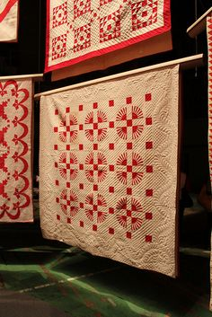 love the quilting on the bottom one