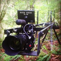 Behind the scenes. Shooting with a 30 ft. Kessler jib and the RED Epic camera.