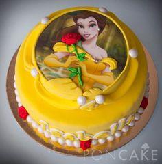 Belle Cake - Bella Cake - Beauty and the Beast Cake - Torta de Bella - Torta de la Bella y la Bestia