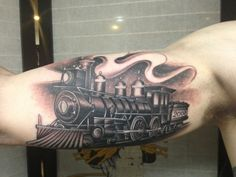 1000 images about train tattoo on pinterest train for Crazy train tattoos