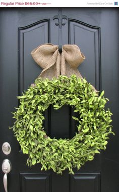 SUPER SALE on NOW Xl Boxwood Wreaths Artificial by twoinspireyou