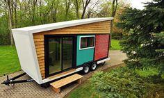Colorful Tiny Box House