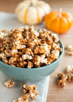 Recipe: Pumpkin Spiced Caramel Corn — Snack Recipes from The Kitchn