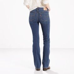 Levi's 715 Boot Cut Jeans - Women's 25x32