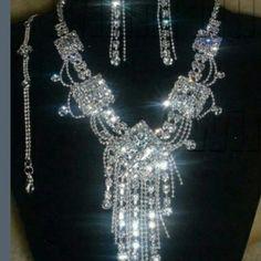 necklace set. Necklace, bracelet, ring & earings Gordons set. Jewelry Necklaces