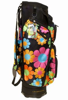 I found this at Pink Golf Tees! Loudmouth Magic Bus Golf Bag