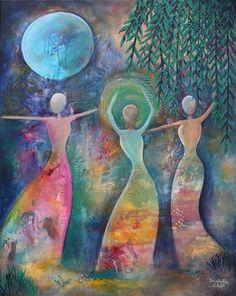 Beverly Ash Gilbert Acrylic Painting Prints