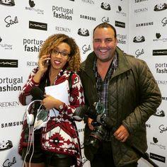 Hoje foi dia de vir ao Portugal Fashion no Porto. #DanielMergulhao #dm1989 #VanessaColaco #PortugalFashion #Porto