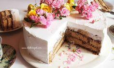 Torta Grčka kraljica Cooking Tips, Cooking Recipes, Torte Recepti, Mouth Watering Food, Vanilla Cake, Cheesecake, Food And Drink, Desserts, Sweets