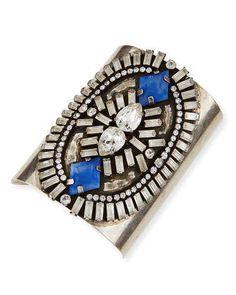 Dannijo Oakli Crystal Cuff Bracelet