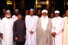 Peace Committee Shocked In Meeting With President Buhari- Photos - Folasworld