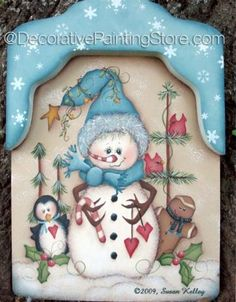 The Decorative Painting Store: Snow Shovel ePacket - Susan Kelley - PDF DOWNLOAD, All Pattern Packets